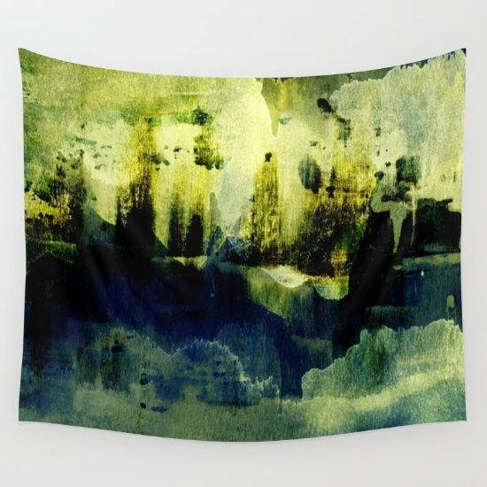 abstract landscape with light Wall Tapestry