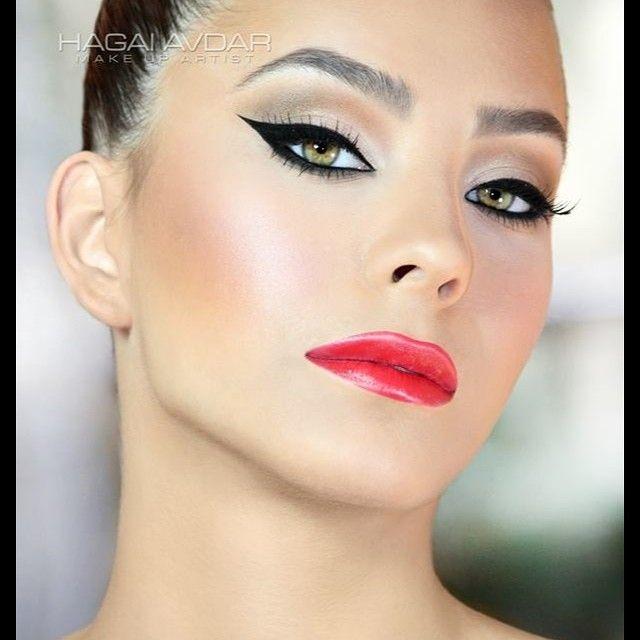 Hagai Avdar makeup