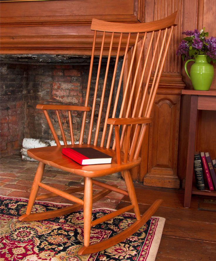 High End, Vermont Made, Solid Wood Windsor Rocking Chair. Finely Crafted In  Vermont. Find This Pin And More On Living Room Furniture ...