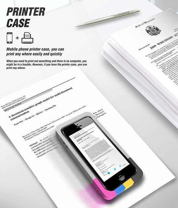 Printer Case – A Case Printer by Eunji Jeong and Nayoung Kim