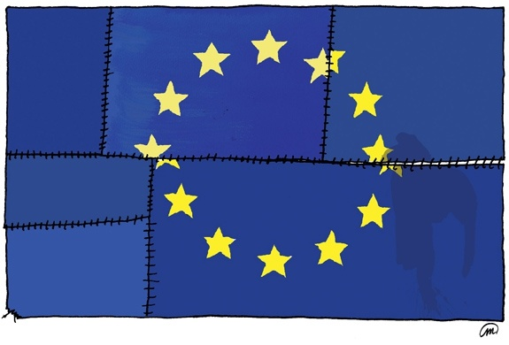 Europe. De Groene. Beeld: Milo