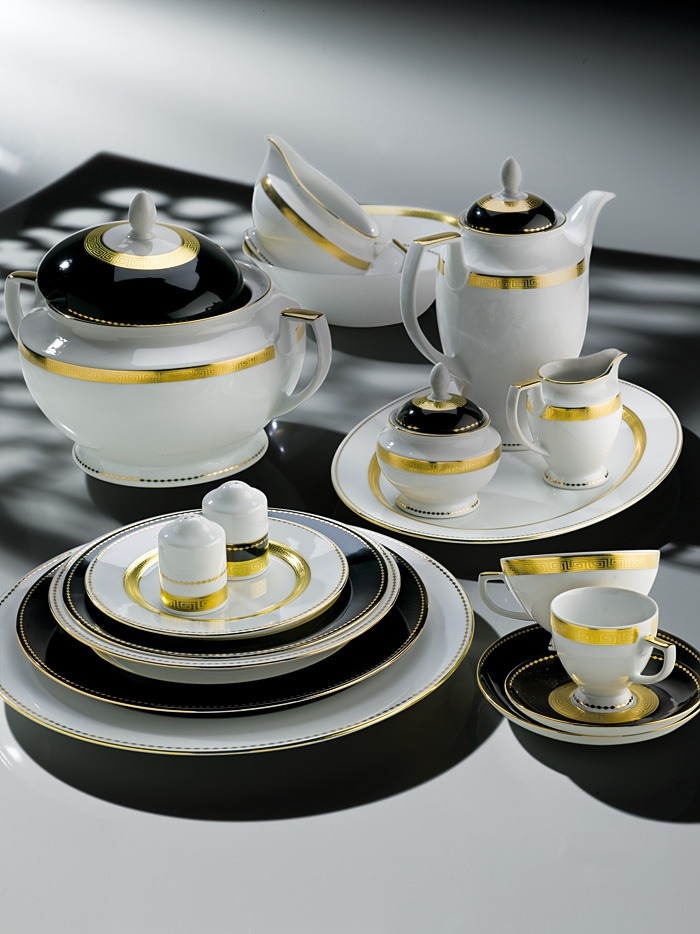 ZEPTER Masterpiece Collection Porcelain - Black & White