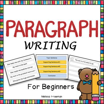order in writing a paragraph