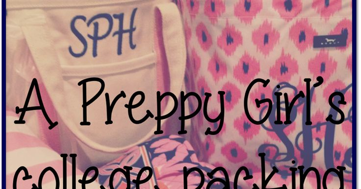 College Packing List! | Prep Avenue