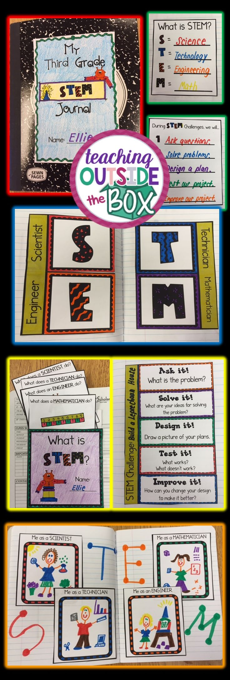 STEM Notebooking Made SIMPLE! Tips and Tools for Elementary Students by Brooke Brown