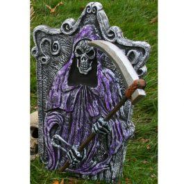 3D Reaper Tombstone 22in #Halloween #Tombstone