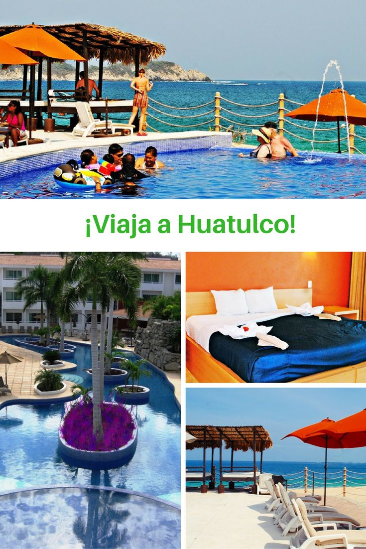 ¡Aprovecha esta oferta para Viajar a Huatulco! ✈ Paquete con -50% para 2 adultos con desayuno incluido y hasta 2 niños gratis #viajes #Oaxaca #Huatulco Reserva ahora >