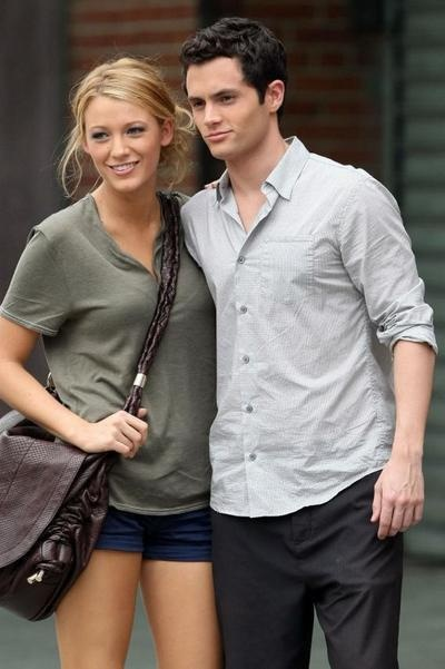 such good looking people    blake lively, penn badgley