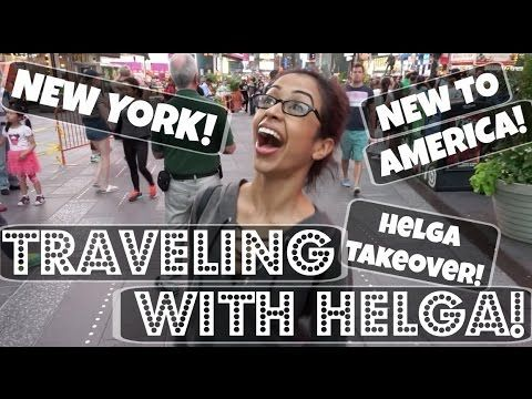 Travling with lizza on youtube you have to watch this it is so funny.