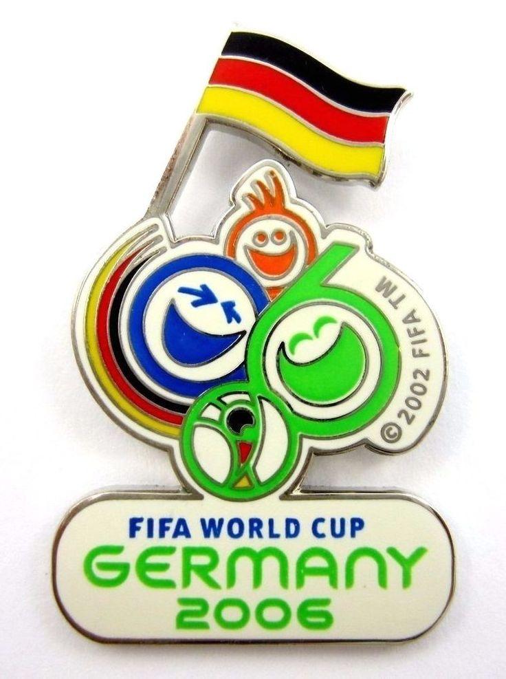 FIFA WORLD CUP GERMANY 2006 OFFICIAL MASCOT PIN BADGE ENAMEL ORIGINAL  | eBay