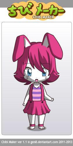 Chibi girl [bunny]