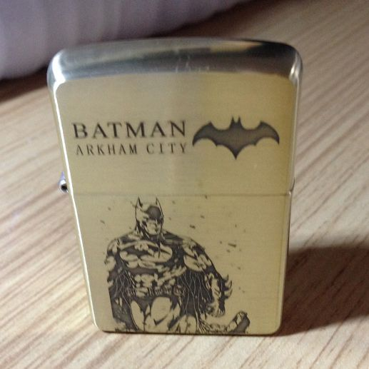 Etching Brass Batman Limited Edition Zippo Lighter