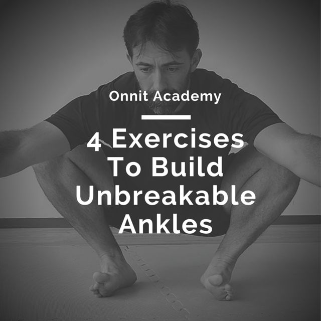Ankle strength and mobility are often neglected. And that's terrible because these small joints carry the entire weight of your body every day.