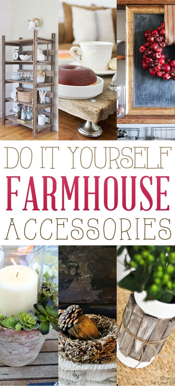 306 best diy home decor images on pinterest home ideas are you in the mood for some delightful diy farmhouse accessories well if the answer is yes sit back have a cuppa and enjoy solutioingenieria Images
