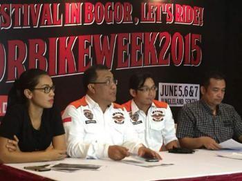 HDCI Tebar Semangat Persaudaraan di Bogor Bike Week 2015