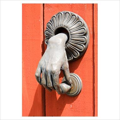 GAP Interiors - Unusual door knocker - Picture library specialising in Interiors, Lifestyle & Homes