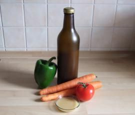 Mamas Salatdressing auf Vorrat von Caro TM31 auf www.rezeptwelt.de, der Thermomix ® Community
