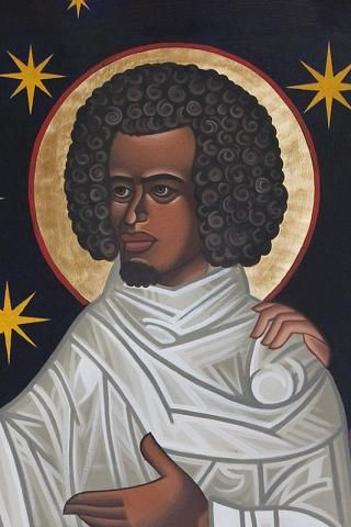 Moses the Black (330–405) Ethiopian thief and gang leader who underwent a conversion and become one of the most revered of the Desert Fathers, founders of monasticism. (August 28) http://www.saintgregorys.org/saints-by-name.html
