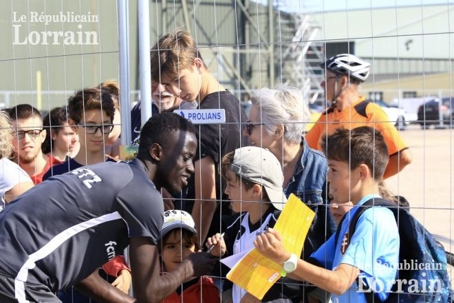 Lorrain de sport | Photos. FC Metz: la première formation ouverte au public en …