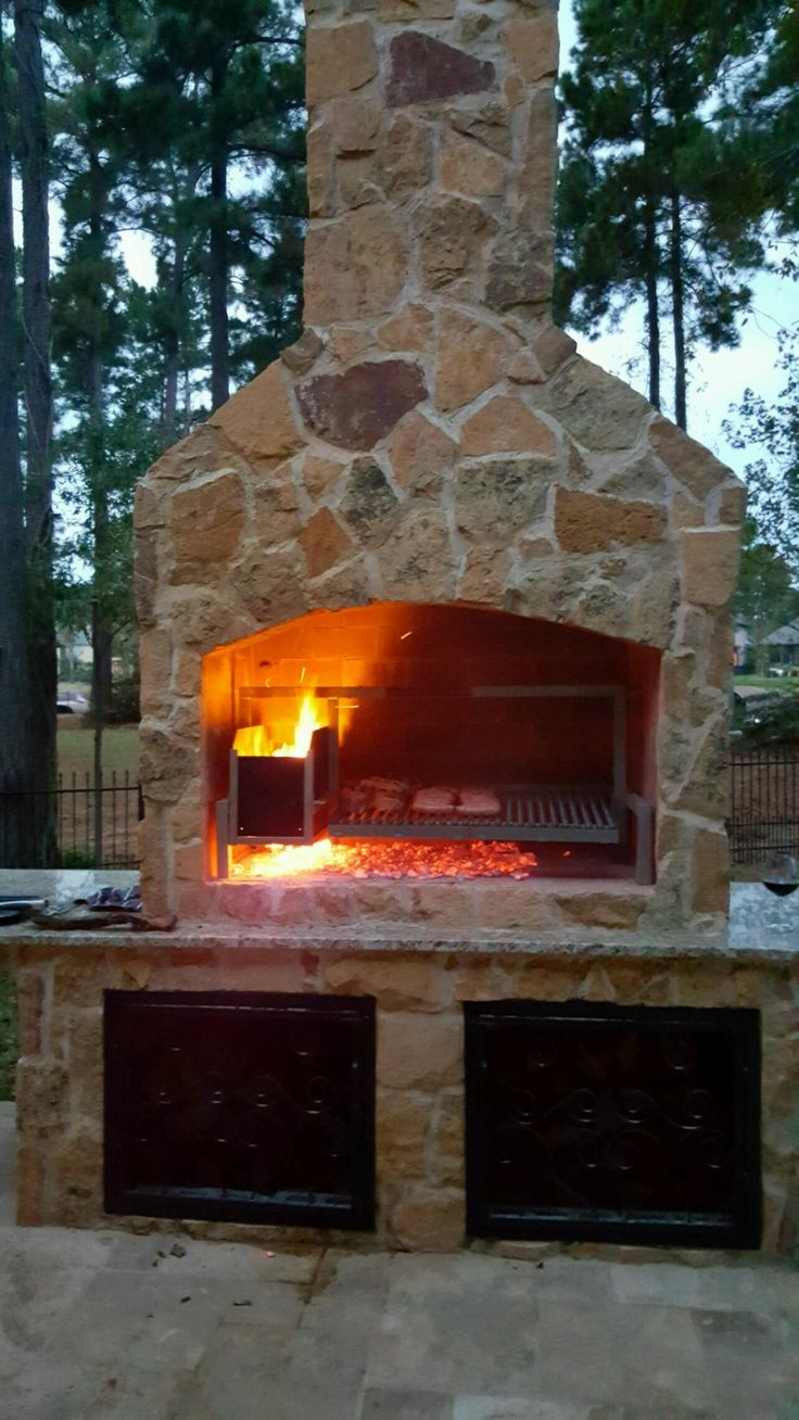 7 best Fireplace Grills (Parrilla) images on Pinterest