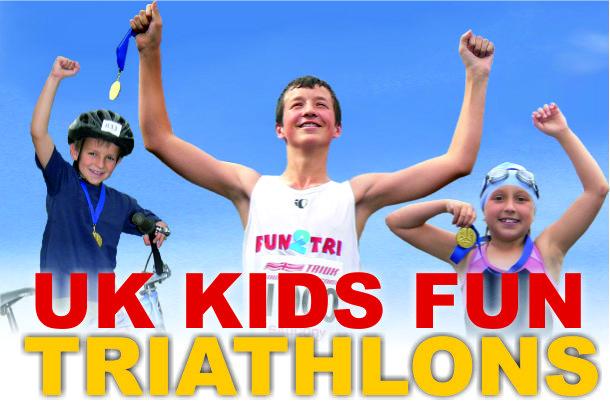 UK Kids Triathlon | UK Triathlon Series | UK Triathlon Events | Fun 2 Tri Series