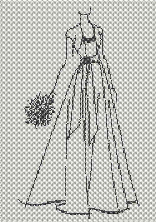 Sew Simple - Free Wedding Sketch