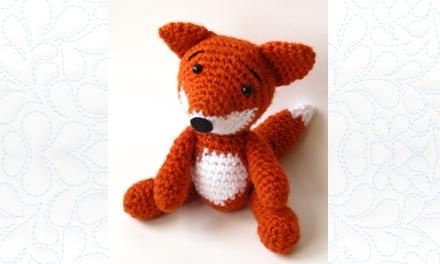 Link to free PDF pattern for Little Fox by Eve Leder: http://www.fairfieldworld.com/files/prod//Lx8kzHyMB0.FAIRFIELD-PATTERN---AMIGRUMI-RED-FOX--JUNE-13-2.PDF