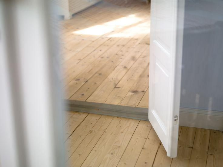 Vackra såpskurade golv