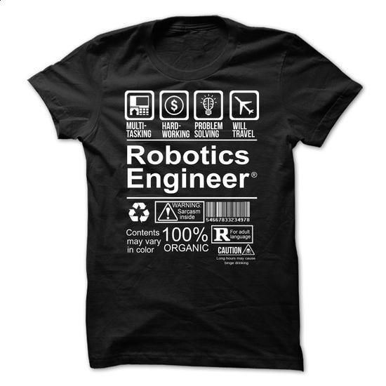 Best Seller - ROBOTICS ENGINEER - #cool hoodie #hoddies. I WANT THIS => https://www.sunfrog.com/No-Category/Best-Seller--ROBOTICS-ENGINEER.html?60505