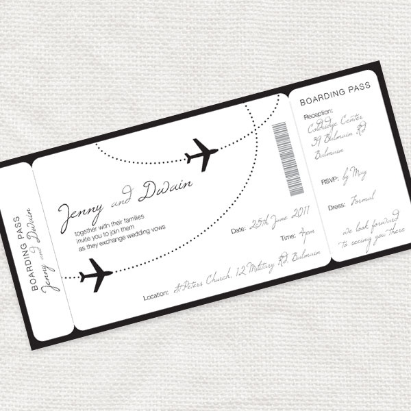 11 best Party!!! images on Pinterest Ticket invitation, Birthday - airline ticket invitation