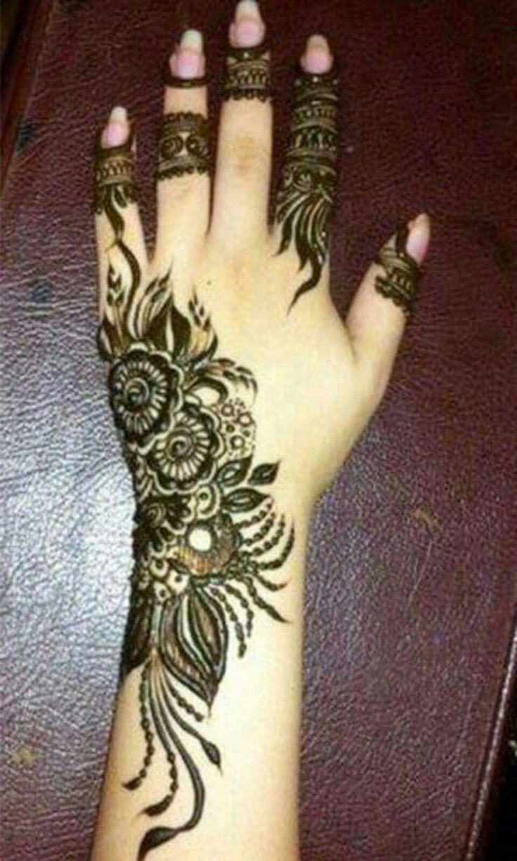 Pin by Asba Saleem on Tik tok Henna hand tattoo, Hand