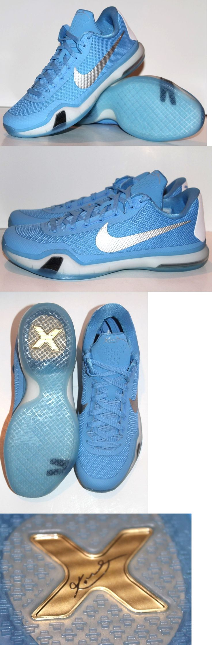 Men 158971: New Nike Kobe X Tb North Carolina Blue Basketball Shoes Mens 10.5 Unc 813030-410 -> BUY IT NOW ONLY: $119.95 on eBay!