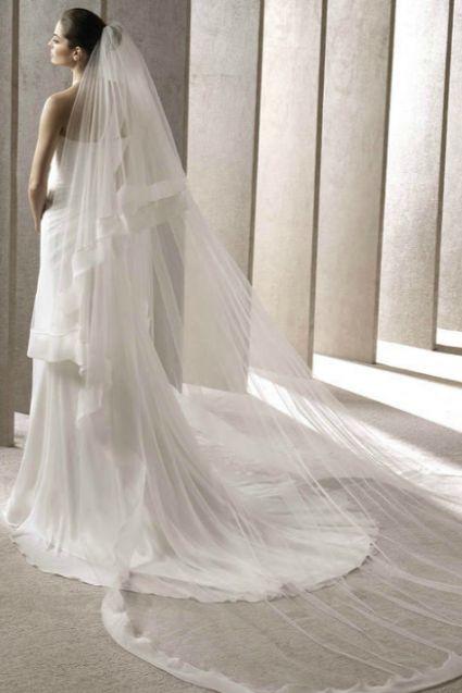 Véus de noiva que são tendência para 2014 [Foto]