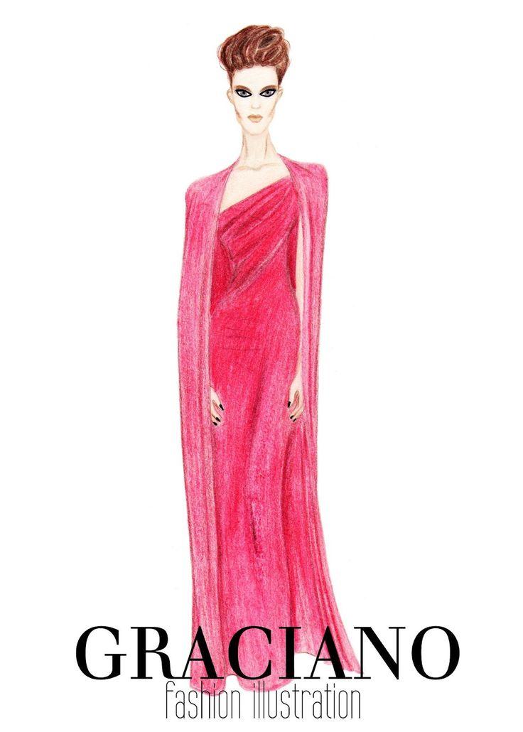 GRACIANO fashion illustration: TOM FORD A/W 2012 Ad Campaign