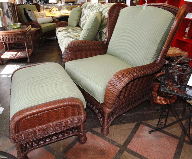 ethan allen wicker furniture
