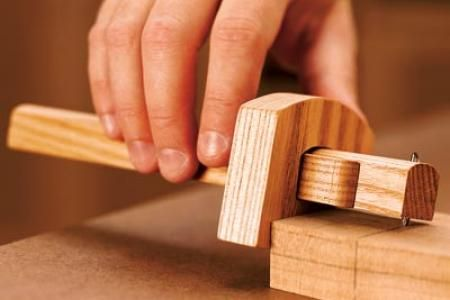 In a short evening, you can turn a few scraps of wood into an accurate, easy-to-use layout tool.