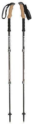 Walking and Trekking Sticks 23809: Black Diamond Alpine Ergo Cork Trekking Poles - Pair Carbon/Cork 100-130Cm BUY IT NOW ONLY: $146.31