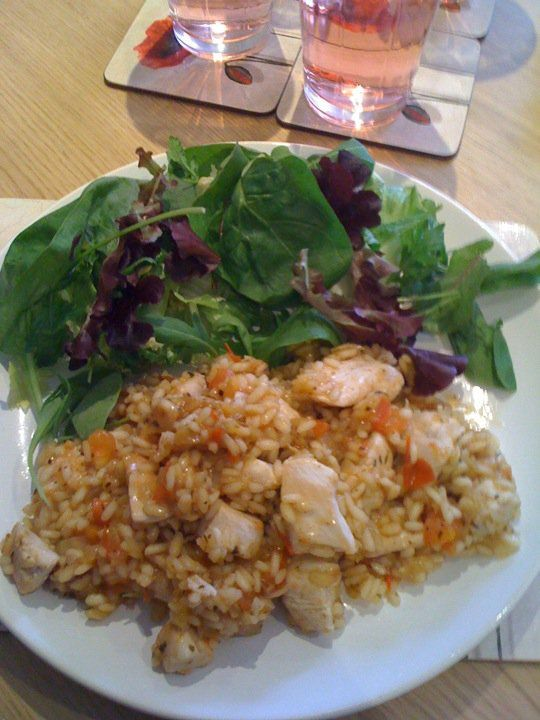 Slimming World recipes: Tomato and chicken risotto
