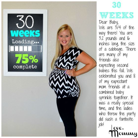30 weeks pregnant - Pregnancy chalkboard bump progress - Pregnancy Chalkboard Tracker - #pregnancy #baby #secondpregnancy #chalkboard #bump #update #fitmom #fitpregnancy #baby2