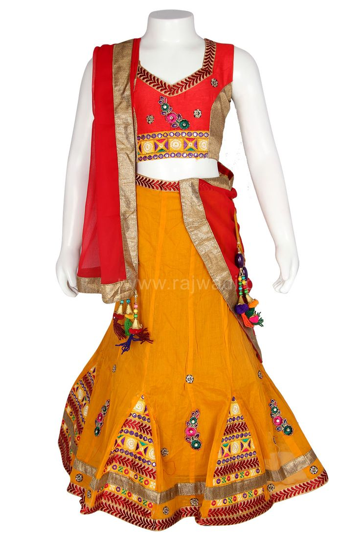 Traditional Girls Chaniya Choli for Navratri #Garba #Dance #Navratri #Festival #Rajwadi #chaniyacholi #newarrival #grabit #Navratricollection #Navratri2015 #girlschaniyacholi #kidschaniyacholi