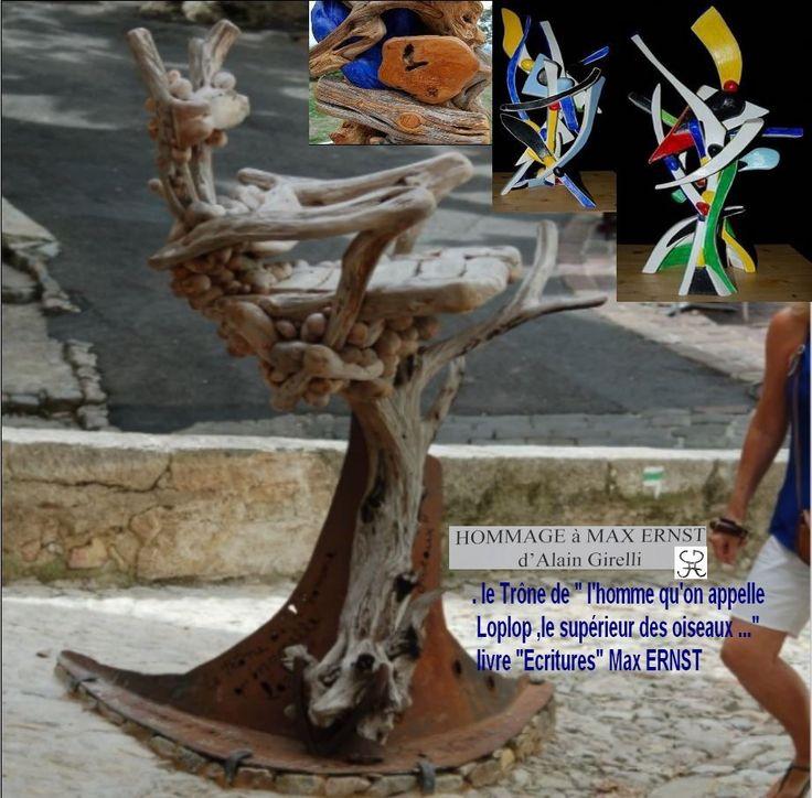 #LOPLOP #MAXERNST #ART #EXPOSITION #CULTURE #SEILLANS http://www.dailymotion.com/video/x10qclv_hommage-a-max-ernst-alain-girelli_creation