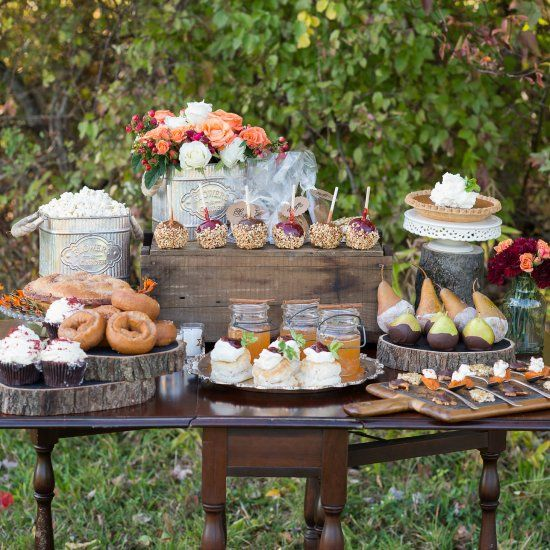 Fall Wedding Dessert Table: 726 Best DESSERT TABLES Images On Pinterest