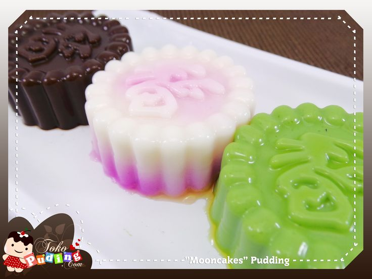mooncakes pudding
