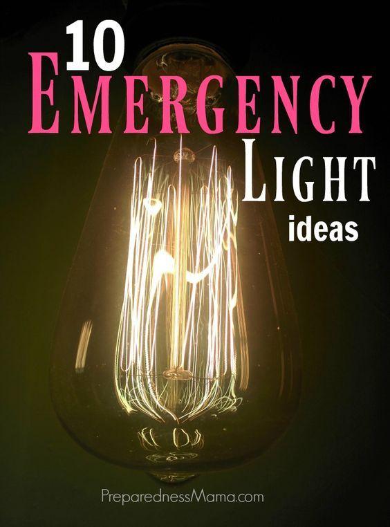 10 Emergency Light ideas for home, yard, and car   PreparednessMama