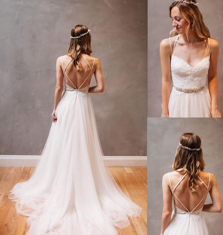 Best 25+ Backless Wedding Dresses Ideas On Pinterest