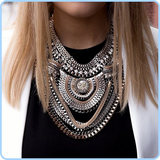 21 Best Statement Necklace Images On Pinterest: 25+ Best Ideas About Chain Necklaces On Pinterest