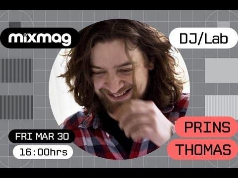 Prins Thomas in the Mixmag DJ Lab - YouTube