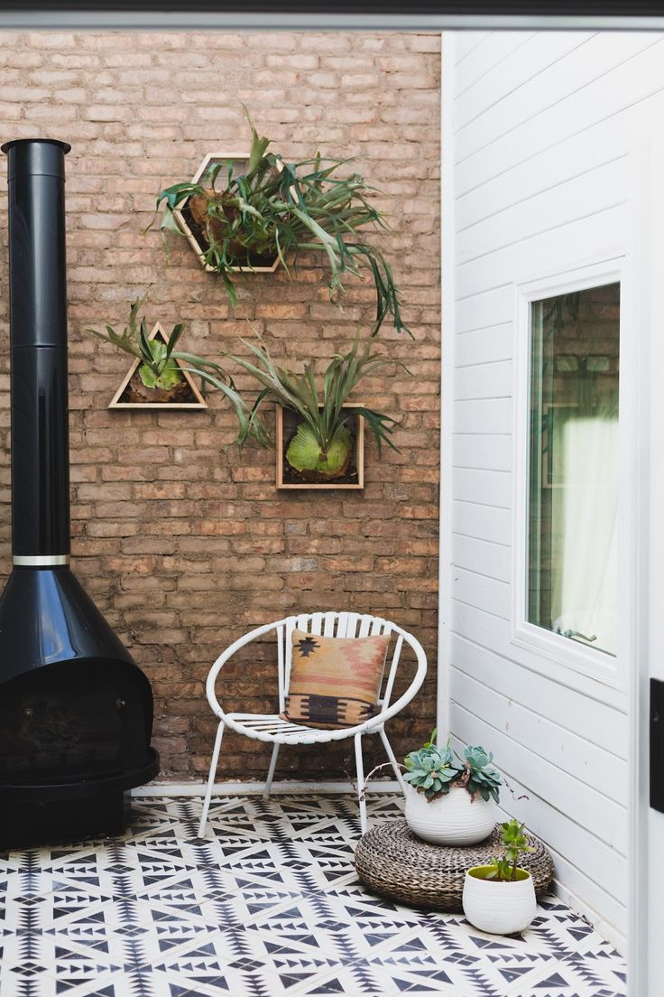 Use patterned tiles outdoors to add character   Similar can be sourced from Mandarin Stone