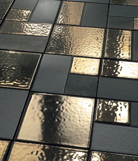 Ceramic flooring | Mosaici d'autore metal | Refin. Check it out on Architonic