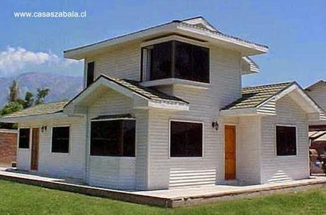 Modelos de casas prefabricadas en Chile.
